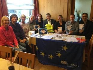 Gruppenbild Erasmus Day Bobingen 2018