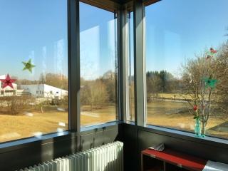 Blick aus Klassenzimmer GTK