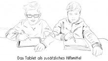Schüler iPad